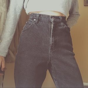 Vintage Ryder's Black Mom Jean